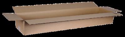 Verzenddoos langwerpig 80x20x10.5cm, verpakt per 25 stuks