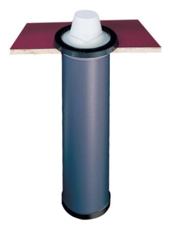 Kunststof bekerdispenser inbouw extra breed BD48