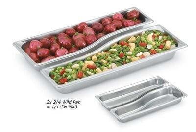 Gastronormbak 2/4 Wild pan Super Shapes