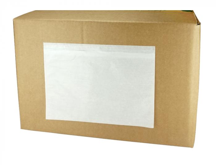 Papieren documentzakjes/packingslips, zelfklevend, verpakt per 1000 stuks