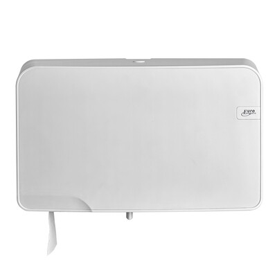 Toiletrolhouder Euro White Quartz mini duo jumbo