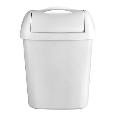 Hygienebak mat wit 8L, verpakt per stuk