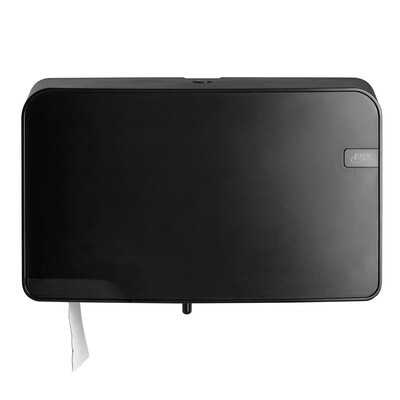 Toiletrolhouder Euro Black Quartz mini duo jumbo