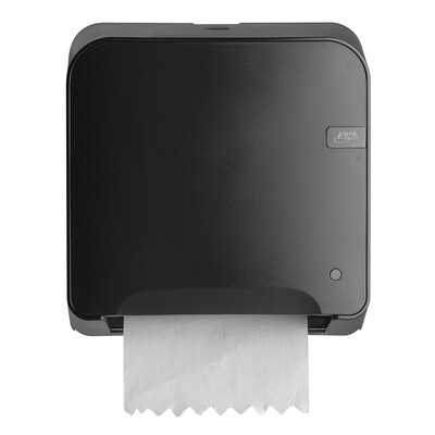 Euro Black Quartz mini matic XL handdoekdispenser