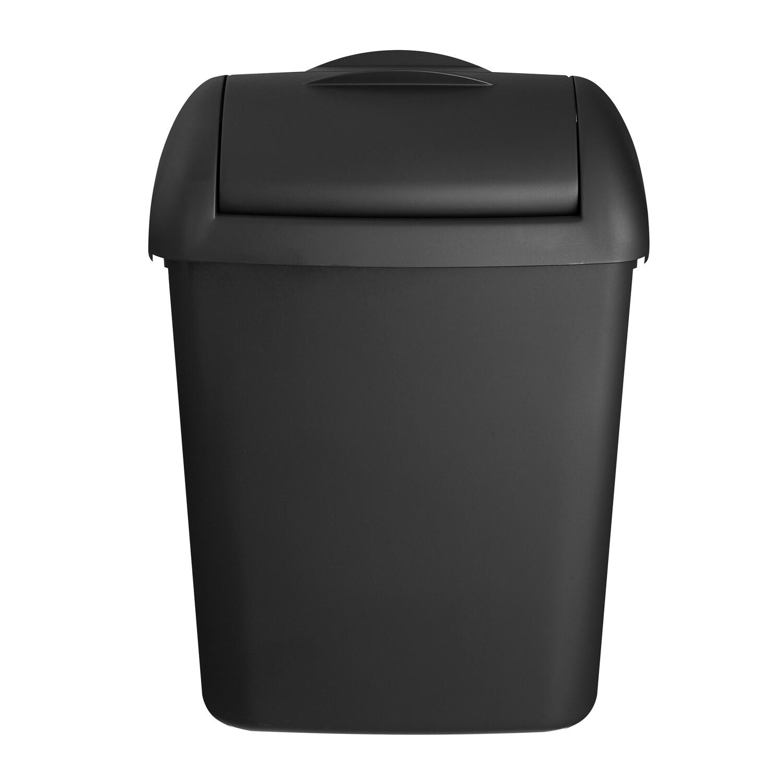 Hygienebak mat zwart 8 liter