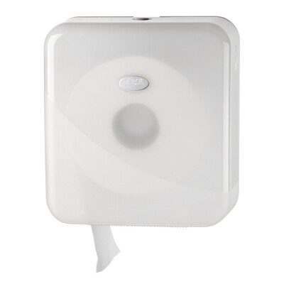 Euro Pearl White jumbo mini toiletrolhouder