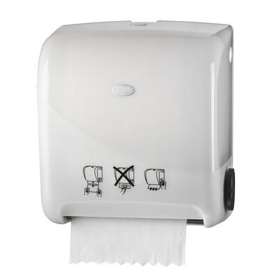 Euro matic Pearl White handdoekautomaat autocut