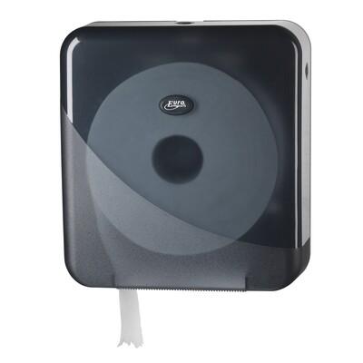 Euro Pearl Black jumbo maxi toiletrolhouder