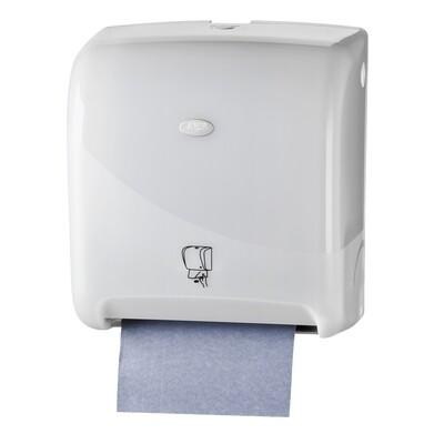 Euro motion Pearl White handdoekautomaat Tear & Go vooraf instellen