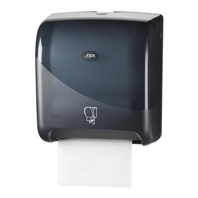 Euro motion Pearl Black handdoekautomaat Tear & Go vooraf instellen