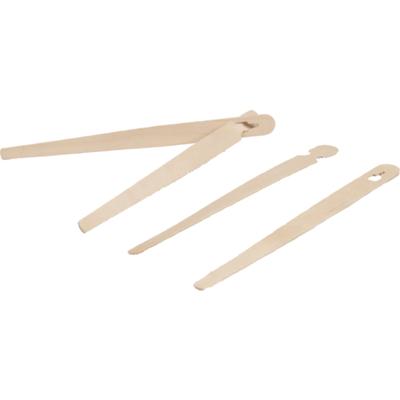 FSC houten kinder eetstokjes 150mm, verpakt per 100 stuks