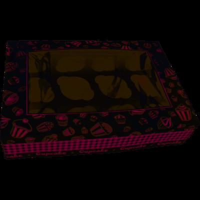 Gebaksdoos specials, karton, 25x36x8cm, wit, verpakt per 100 stuks