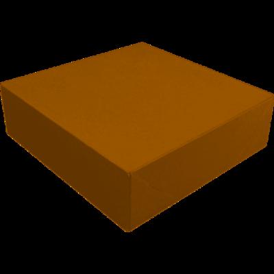 Zwanenhals/verzenddoos, kraftkarton, 34x34x9cm, bruin,  verpakt per 50 stuks