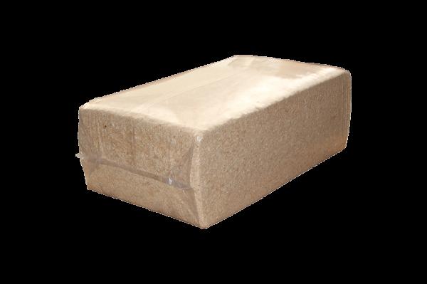 Vulmateriaal, houtwol krullen 55 liter, ca 5kg.