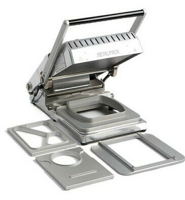 Topsealmachine Metalpack T190, verpakt per stuk