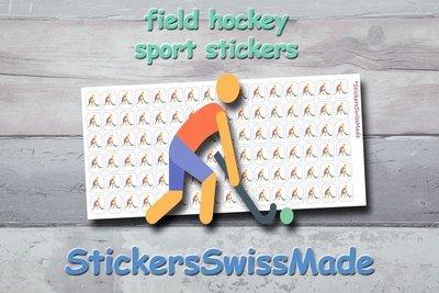 FIELD  HOCKEY - sport stickers - multicolored