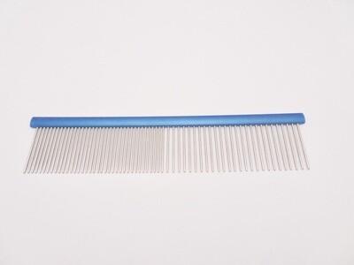Kamm 19x4cm, fein, blau