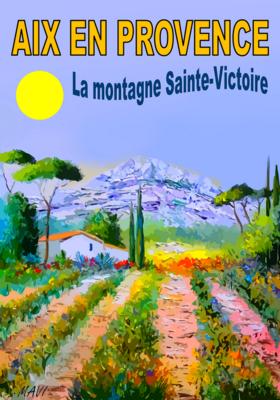 AIX EN PROVENCE- Montagne St Victoire