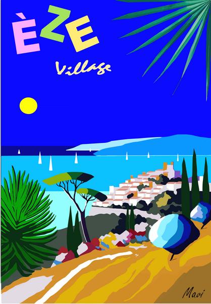 EZE - Vers le Village