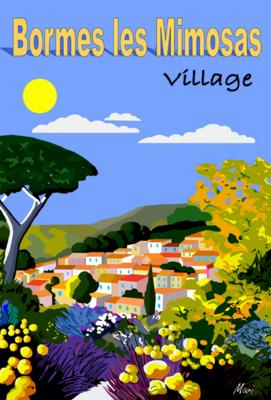 BORMES LES MIMOSAS Village