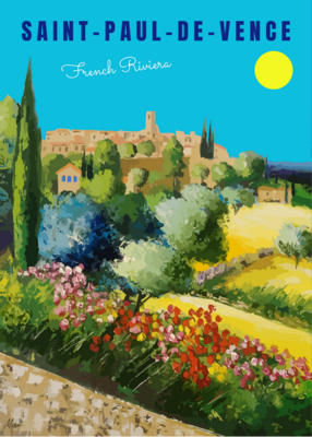 SAINT PAUL DE VENCE - french riviera