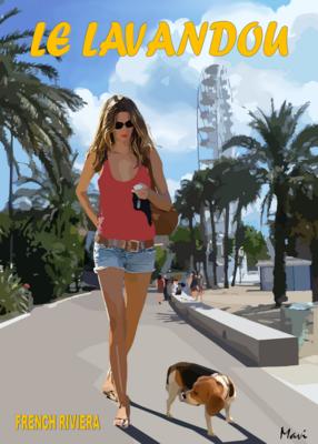 LE LAVANDOU  Promenade au port