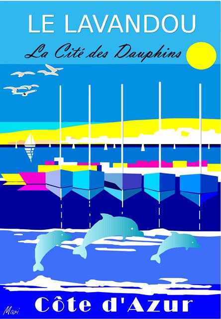 LE LAVANDOU -Le port