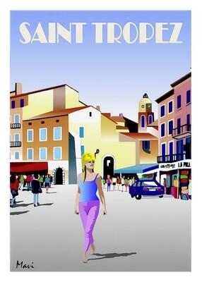 Promenade a Saint Tropez