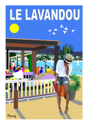 LE LAVANDOU - Welcom beach