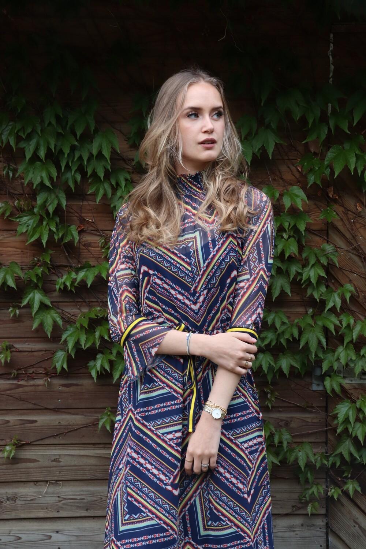 Carley Geometric Dress, laatste stuks