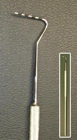 Periodontal Probe S.E  FLEXIABLE   Point 0-20mm