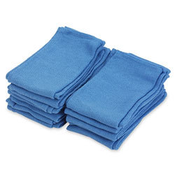 Blue Non Sterile Dozen Cotton Towels Approx 16x30