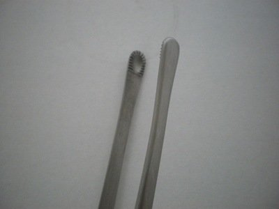 RUSSIAN Tissue Forceps Large 12