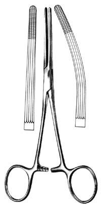 ROCHESTER-CARMALT Forceps Curved 8