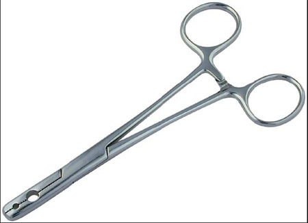 Fixation Forceps 2 - hole straight 5.5