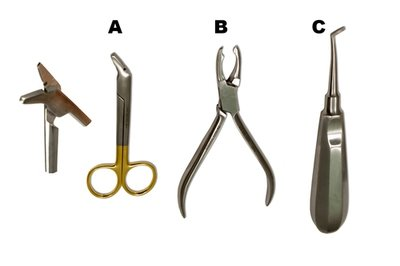 Orthodontic Pliers Set of 3