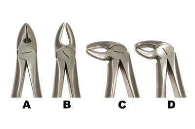 Mead Style Forceps set of 4