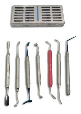 Bone Grafting Kit Set of 7 with Case