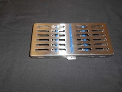 Sterile Metal Cassette Holds 7 Instruments