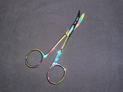 North Bent Suture Scissors 4½