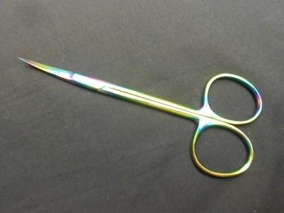 Multi Color German Iris Scissors 4½