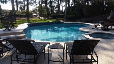 April, October Pool Heat