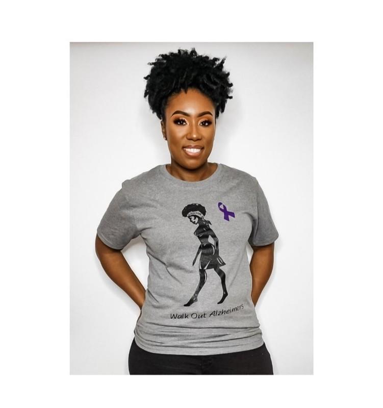 Walk Out Alzheimers T-Shirt