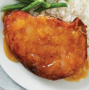 Palisade Peach Spiced Pork Chops - GF