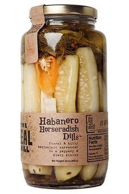 The Real Dill: Habanero Horseradish Dills