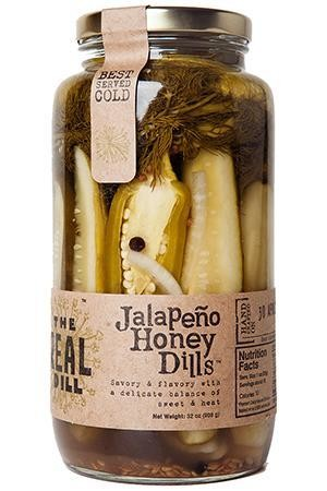 The Real Dill: Jalapeno Honey Dills