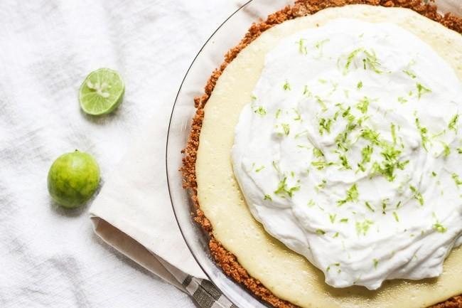 Lime Cooler Pie (Serves 6-8)