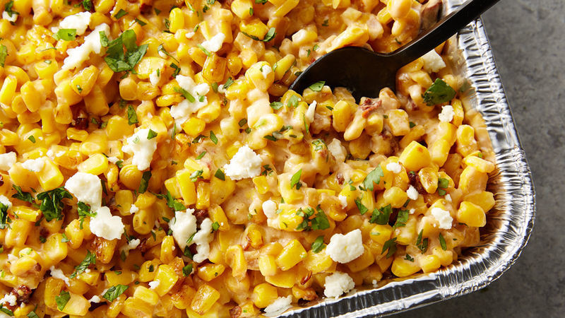 Grilled Chipotle Creamed Corn - GF