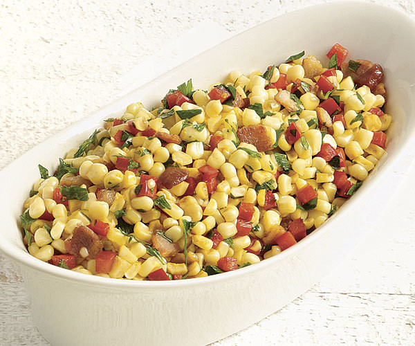 Corn, Bacon and Red Bell Peppers - GF
