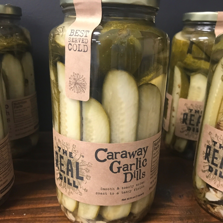 The Real Dill: Caraway Garlic Dills